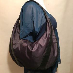 LeSportSac Hobo Shoulder Purse Dark Blue Purple